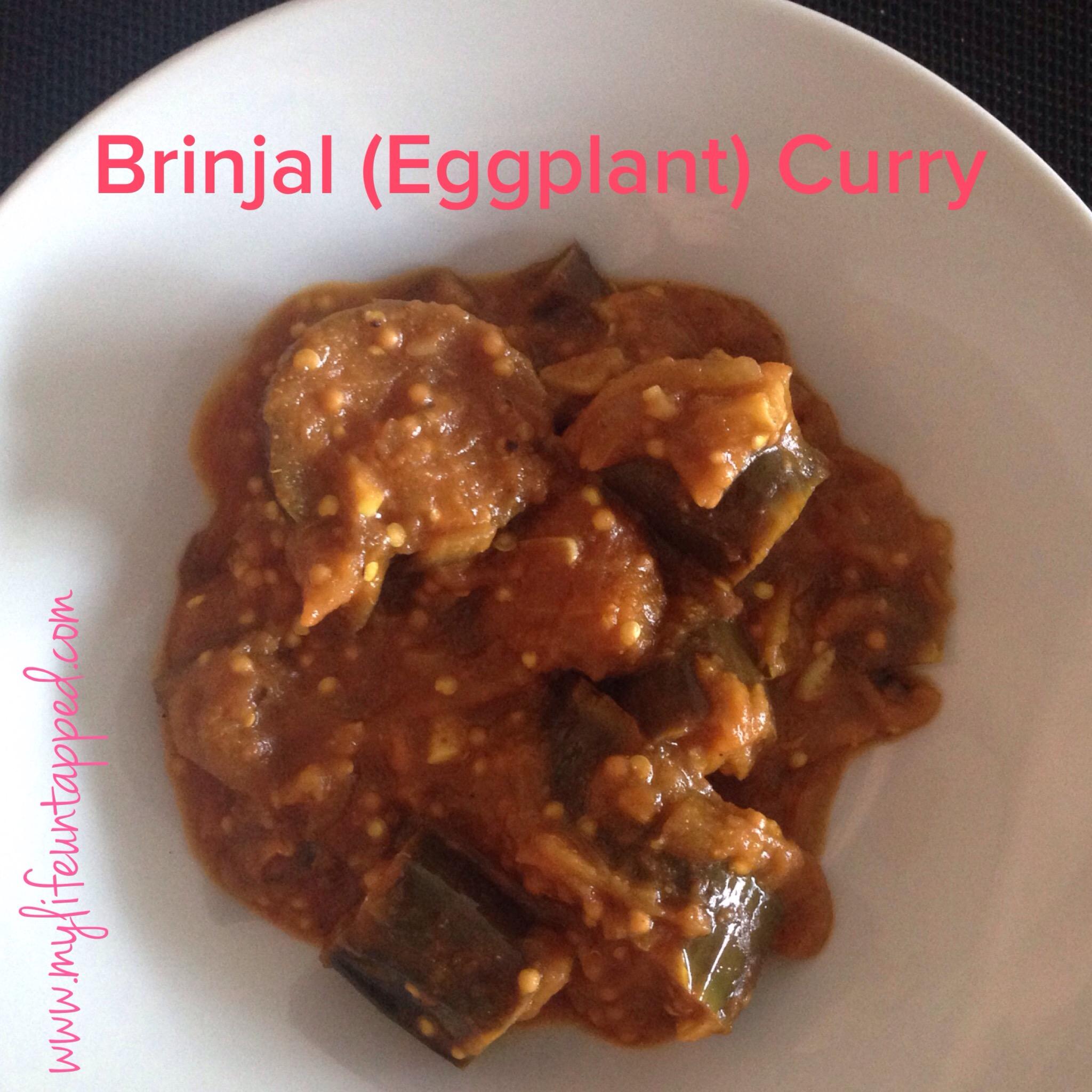brinjal eggplant curry